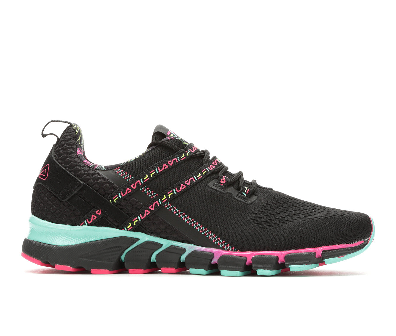 Fila Memory Realmspeed Evo Women's Athletic Shoe (Black)