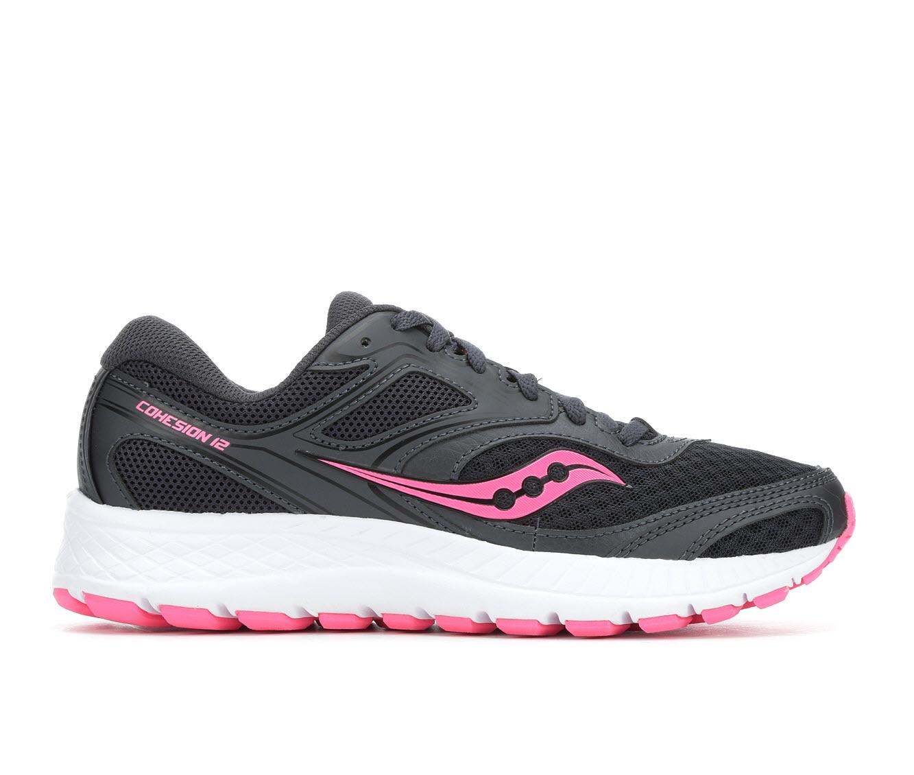 Saucony Cohesion 12 Women's Athletic Shoe (Black)