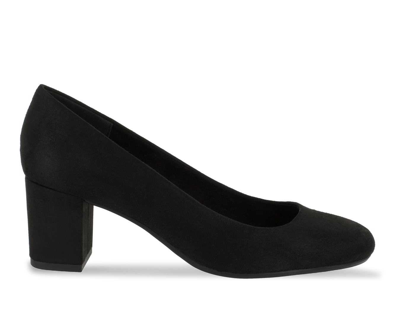 Easy Street Proper Women's Dress Shoe (Black Canvas)