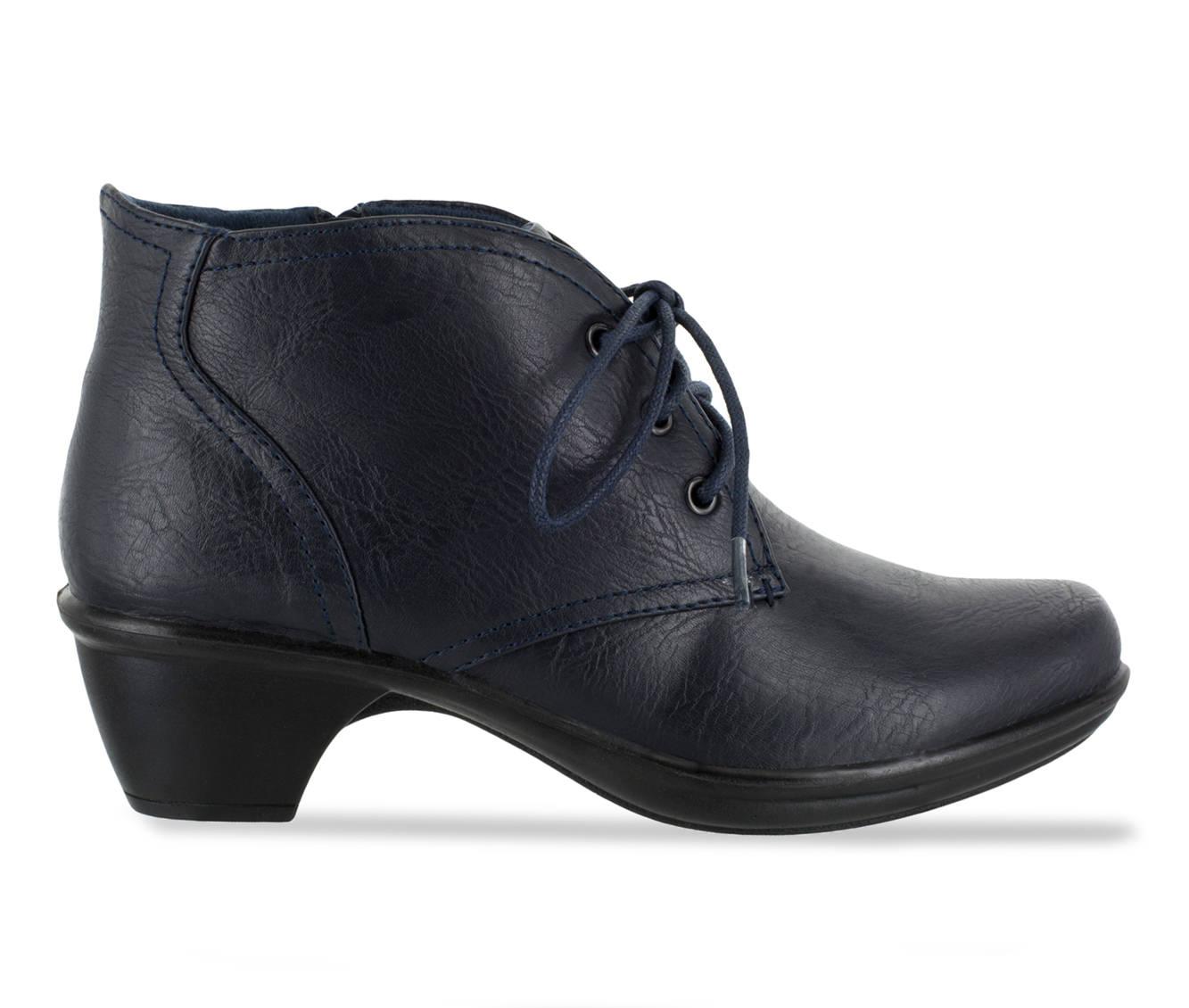 Easy Street Debbie Women's Shoe (Blue Faux Leather)