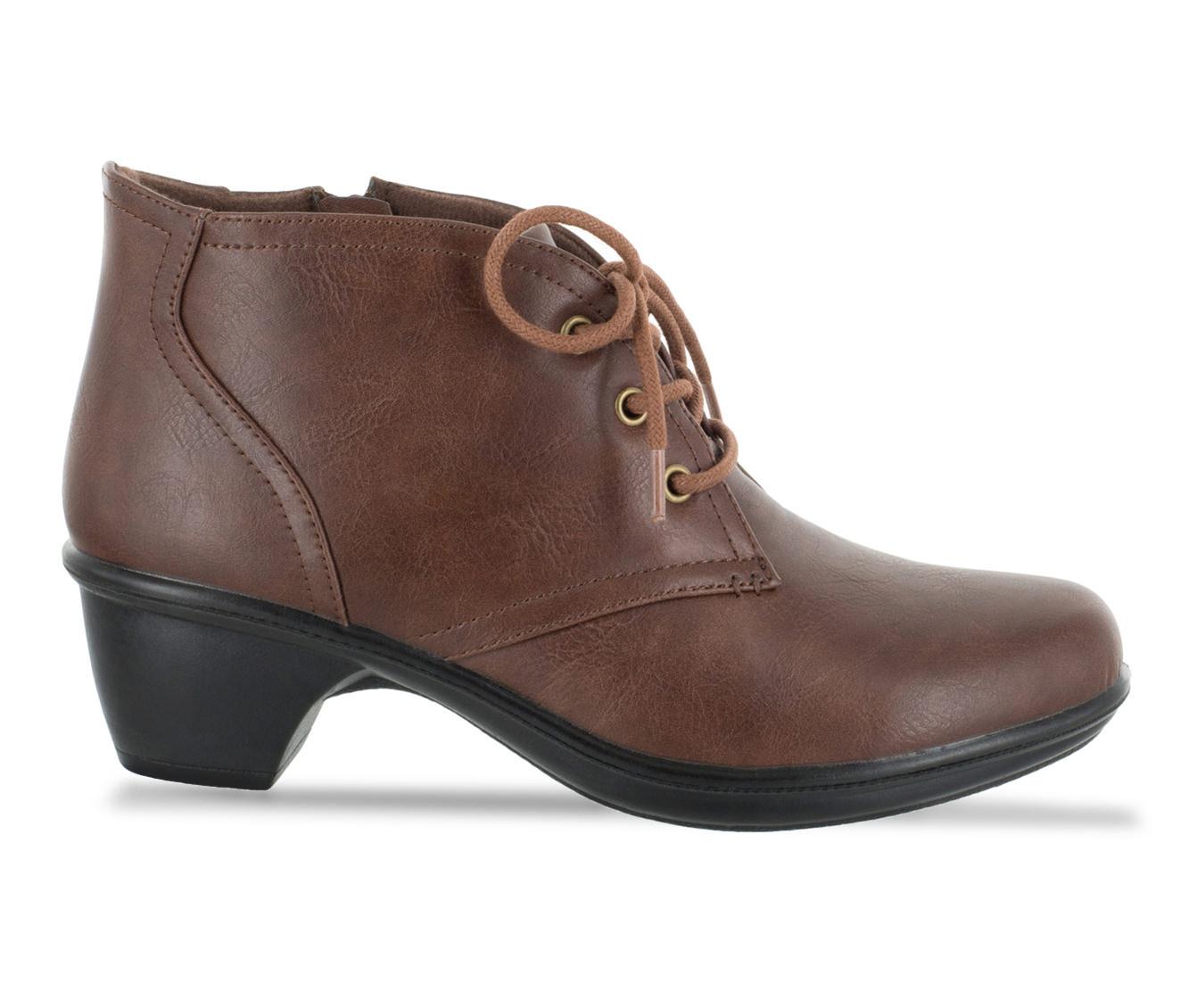 Easy Street Debbie Women's Shoe (Brown Faux Leather)