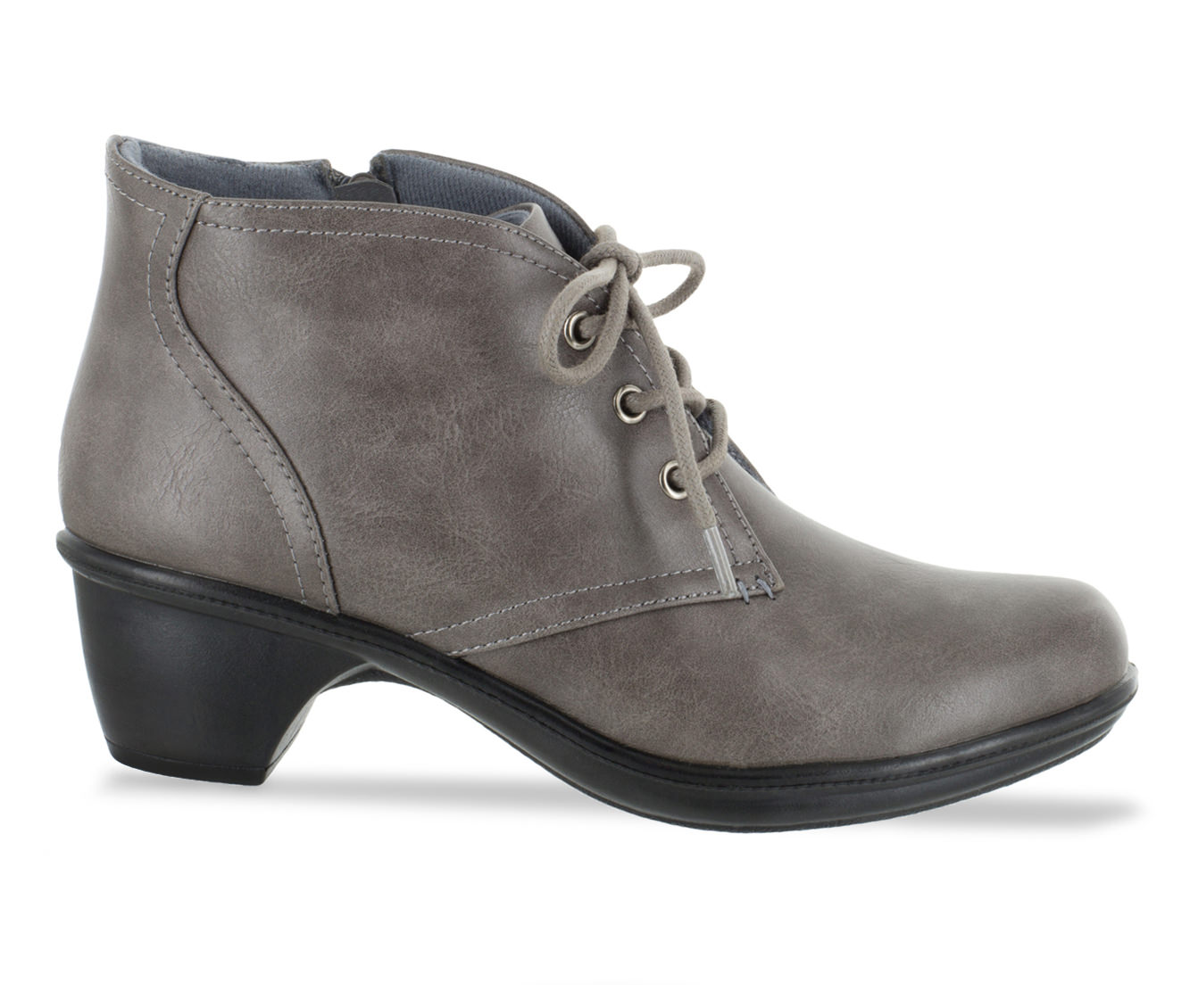 Easy Street Debbie Women's Shoe (Gray Faux Leather)