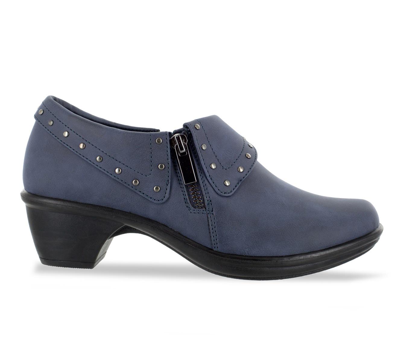 Easy Street Darcy II Women's Shoe (Blue Faux Leather)