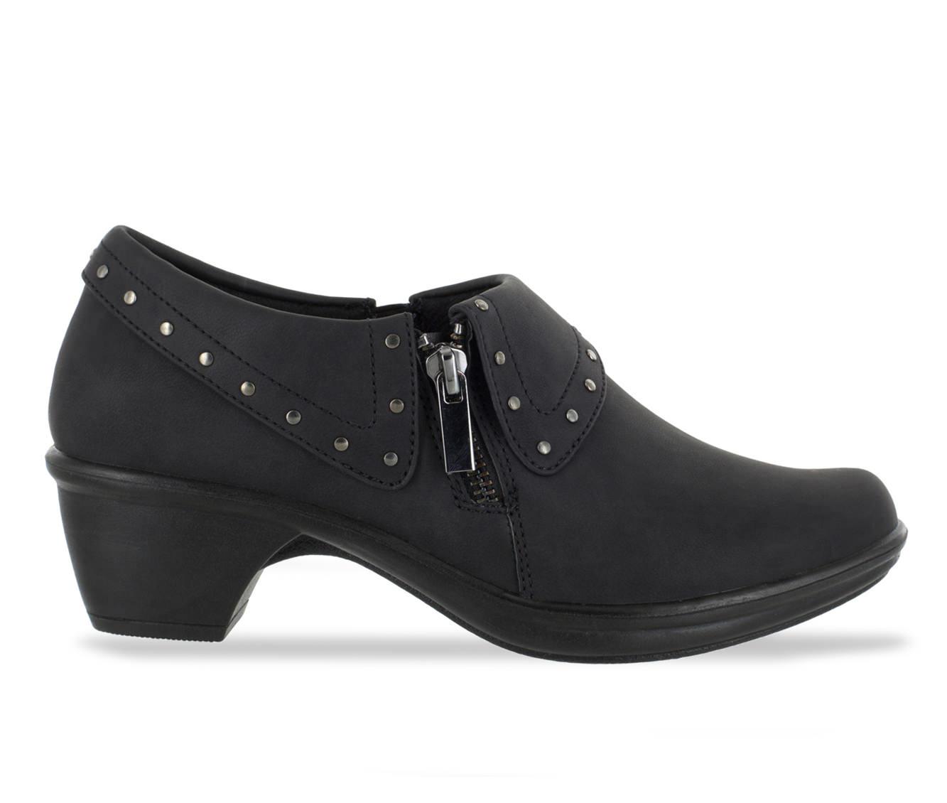 Easy Street Darcy II Women's Shoe (Black Faux Leather)