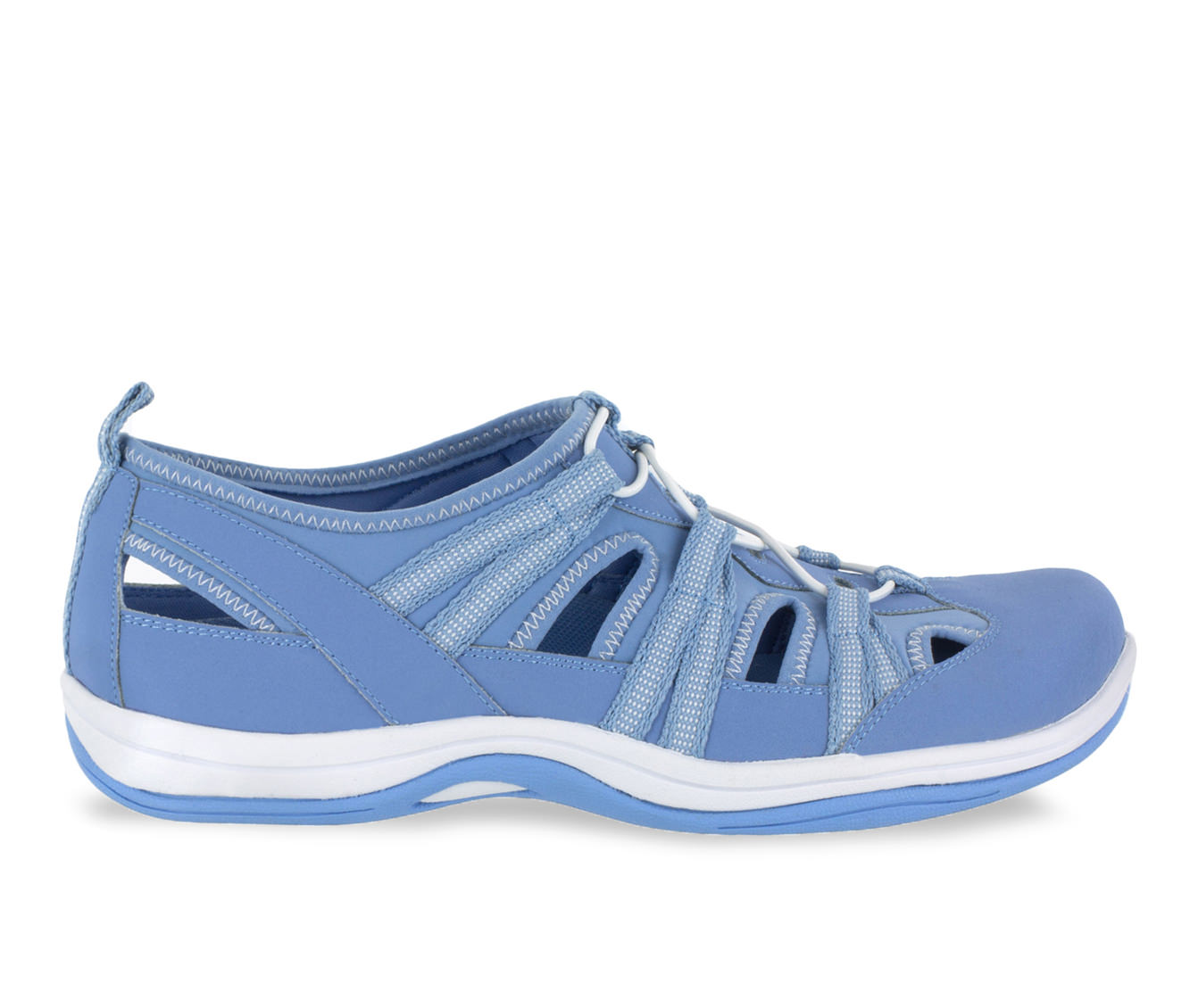 Easy Street Campus Women's Shoe (Blue Canvas)