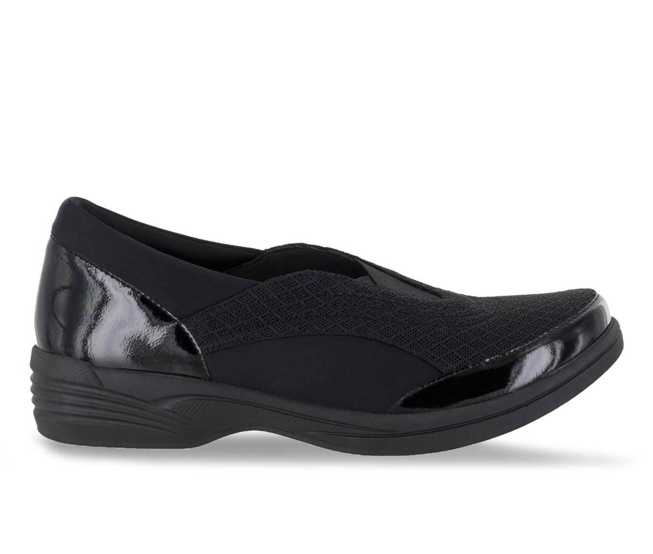 Easy Street Spontaneous Women's Shoe (Black Canvas)
