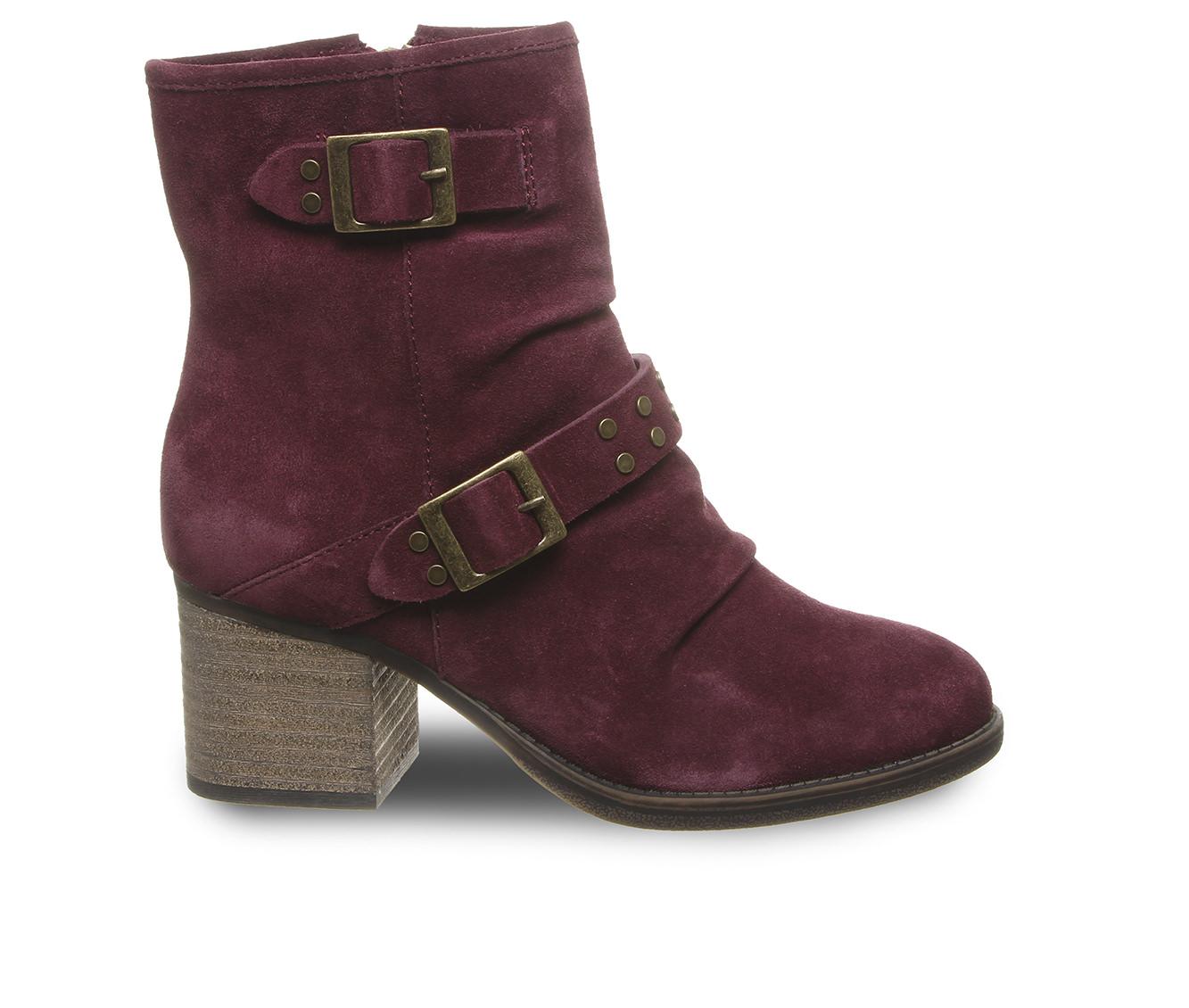 Bearpaw Amethyst Women's Boot (Red Suede)