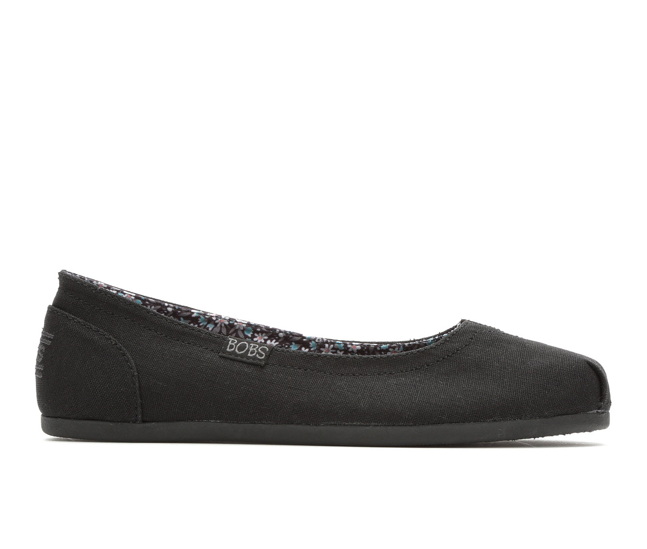 BOBS Turning Point Women's Shoe (Black Canvas)