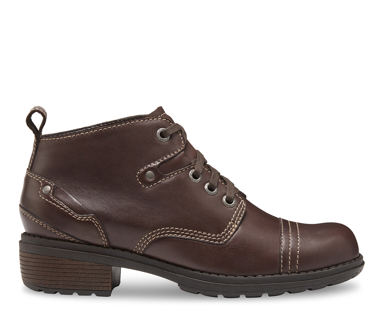Eastland Overdrive Women's Boot (Brown Leather)