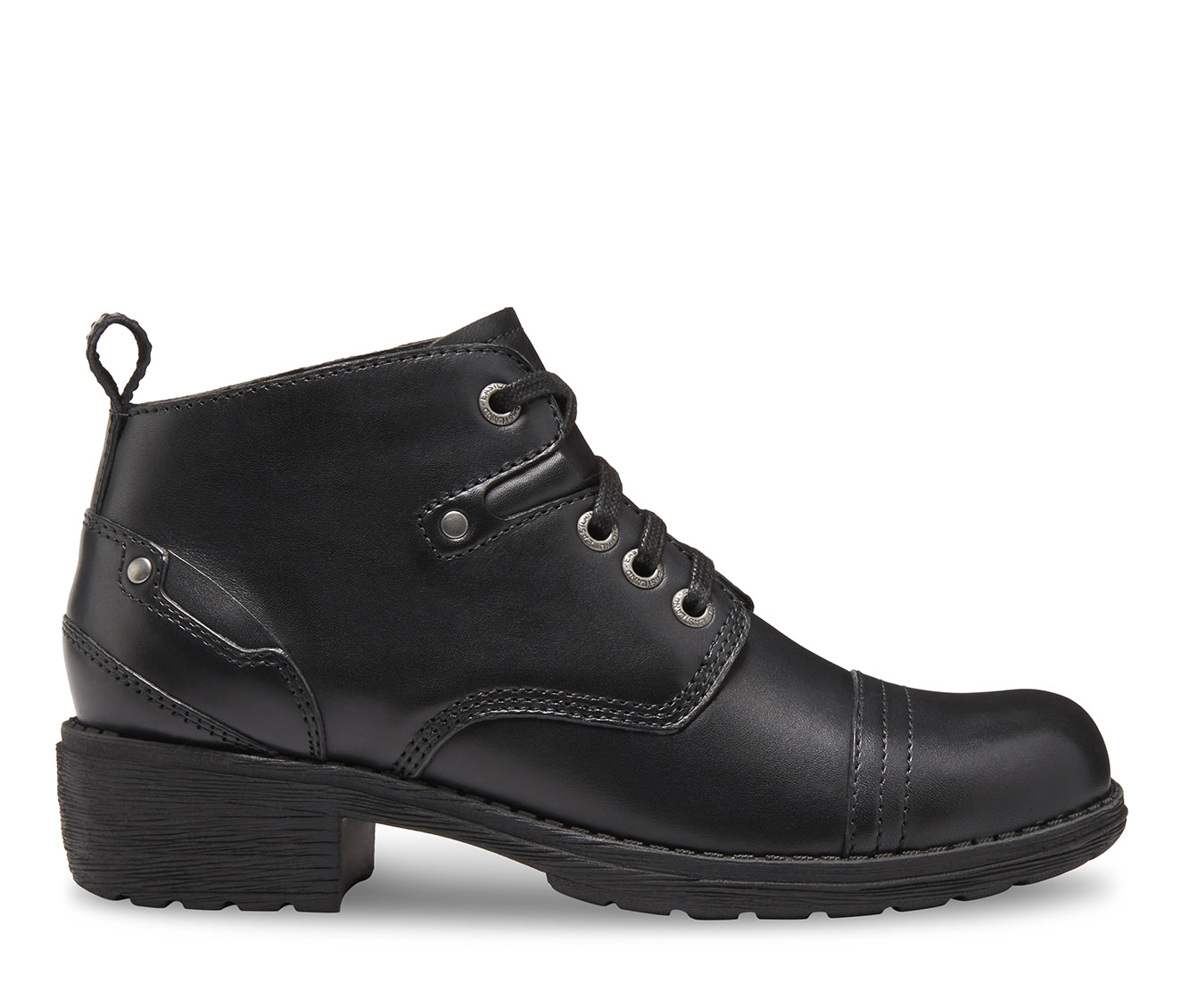 Eastland Overdrive Women's Boot (Black Leather)