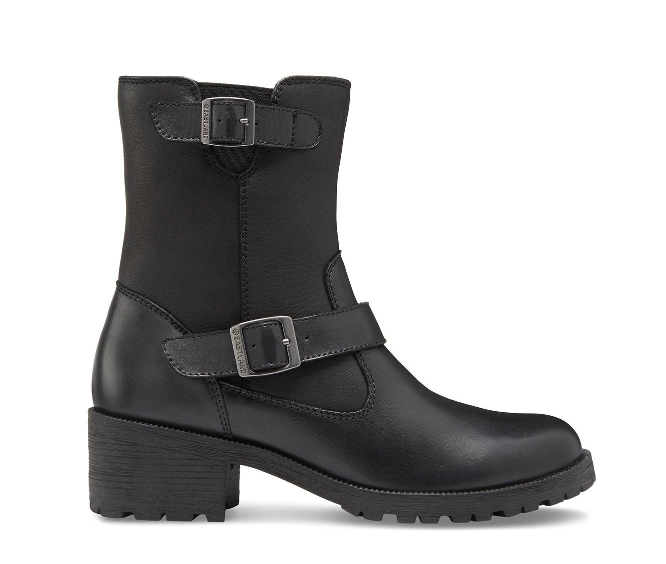 Eastland Belmont Women's Boot (Black Leather)