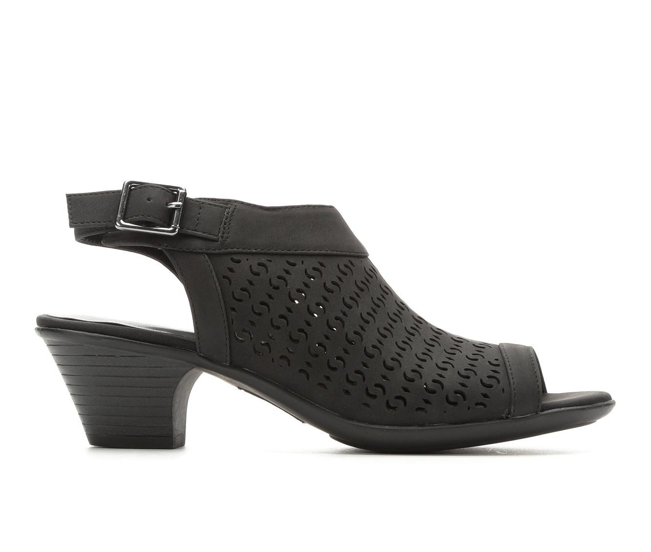 Easy Street Jill Women's Dress Shoe (Black Faux Leather)