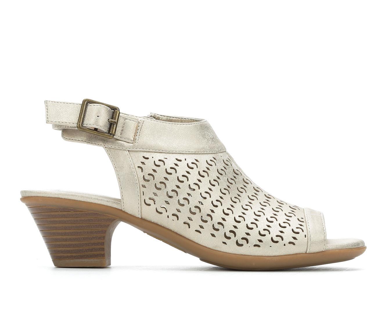 Easy Street Jill Women's Dress Shoe (Gold Faux Leather)