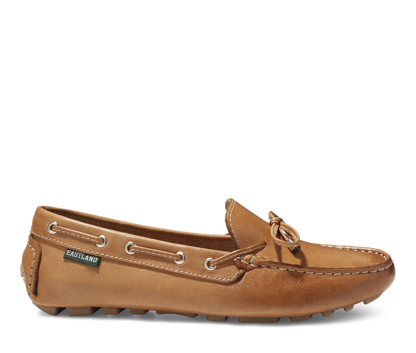 Eastland Marcella Women's Shoe (Beige Leather)