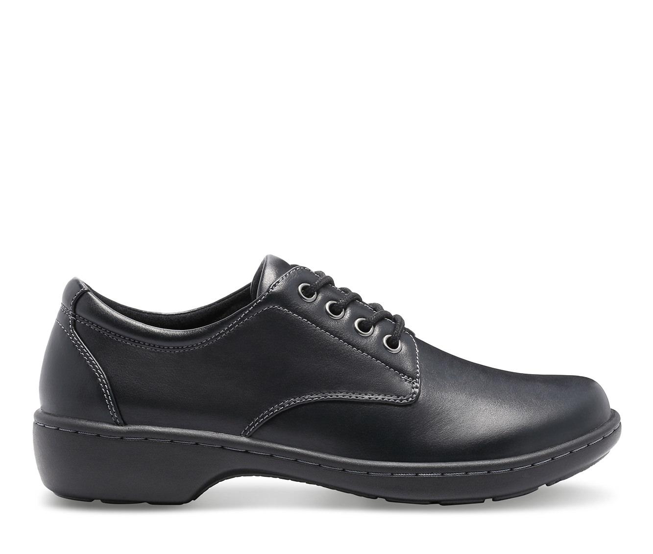 Eastland Pandora Women's Shoe (Black Faux Leather)