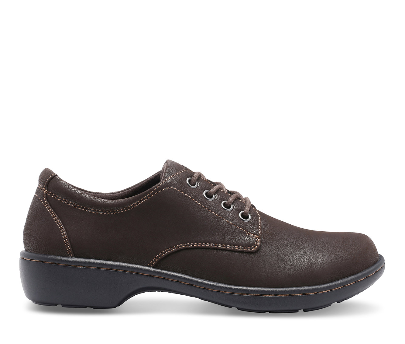 Eastland Pandora Women's Shoe (Brown Faux Leather)