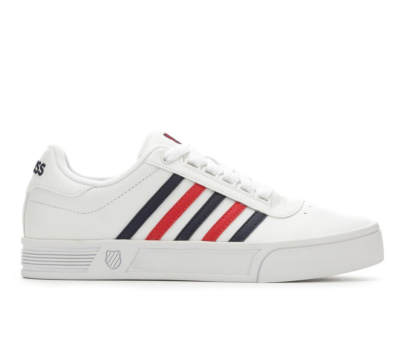 K-Swiss Court Lite Stripes Women's Athletic Shoe (White)