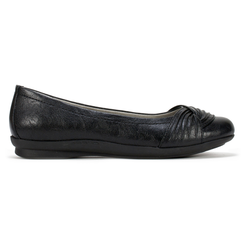 Cliffs Hilt Women's Shoe (Black Faux Leather)