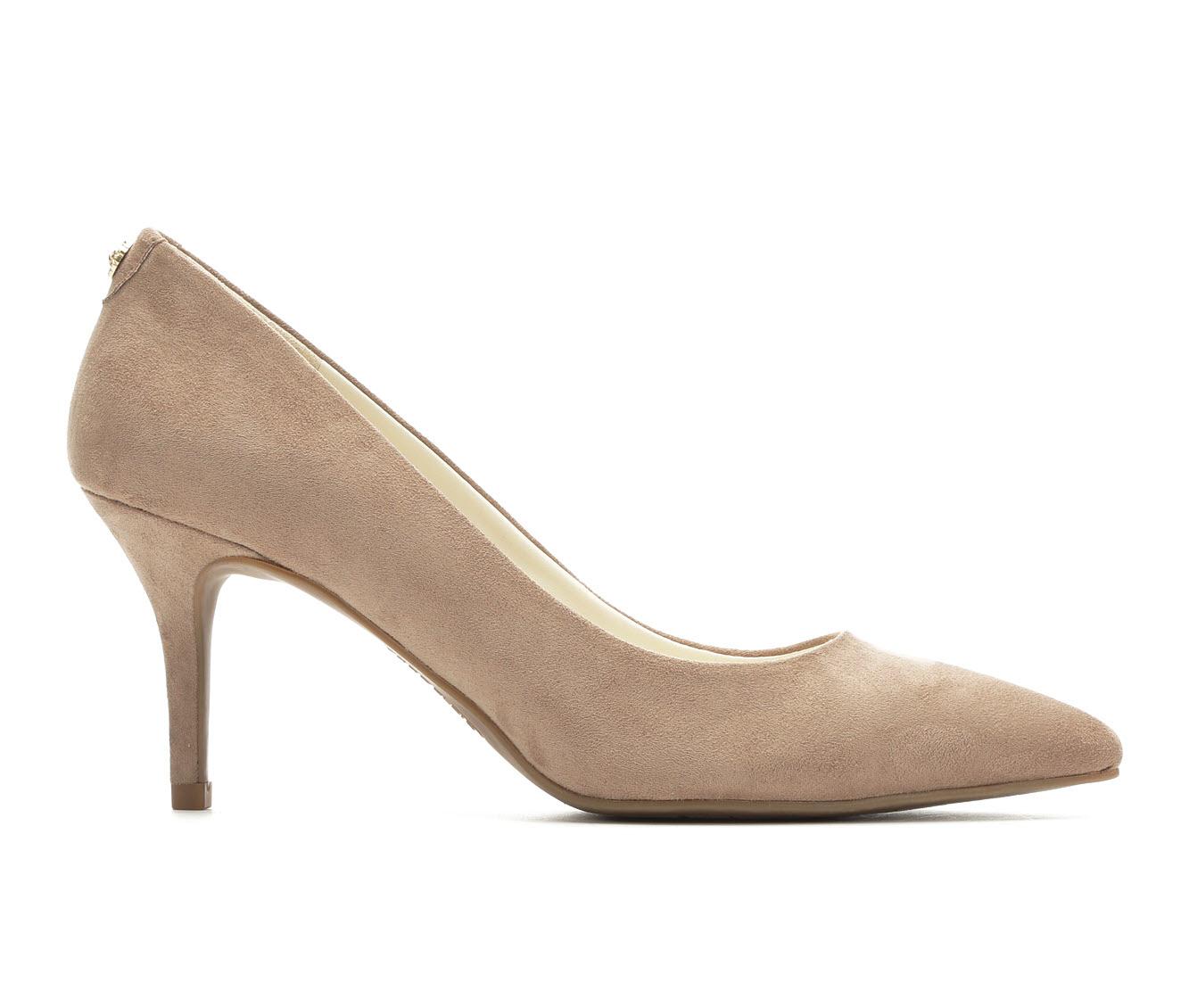 Anne Klein Sport Kimery Women's Dress Shoe (Beige Faux Leather)