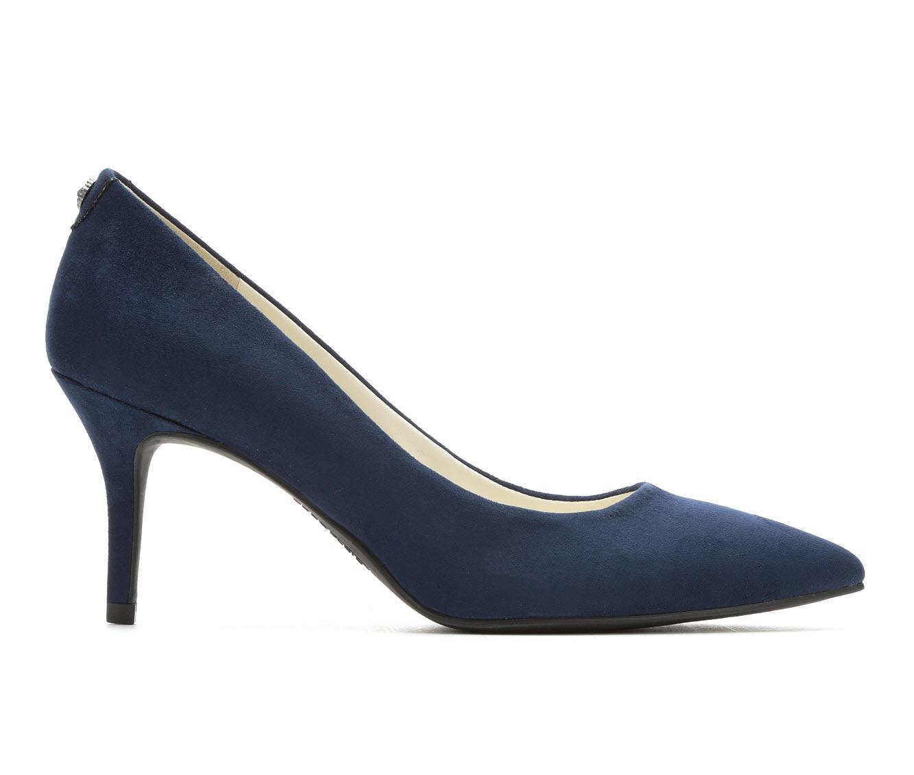 Anne Klein Sport Kimery Women's Dress Shoe (Blue Faux Leather)