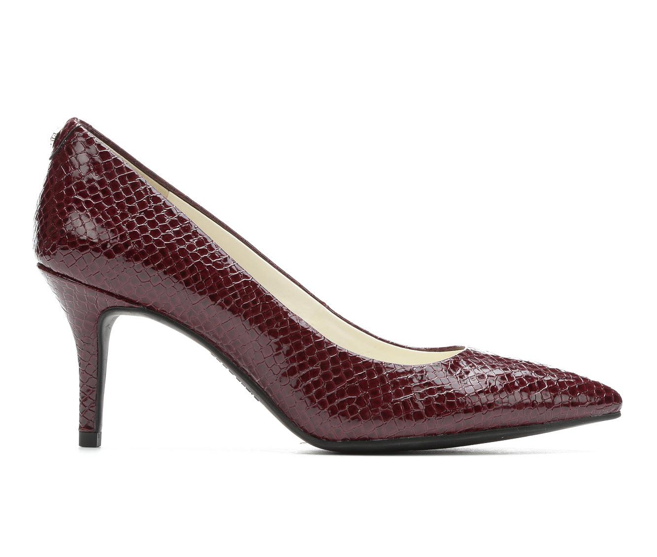 Anne Klein Sport Kimery Women's Dress Shoe (Red Faux Leather)