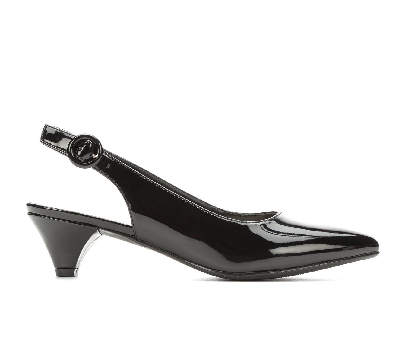 Anne Klein Sport Xplore Women's Dress Shoe (Black Faux Leather)