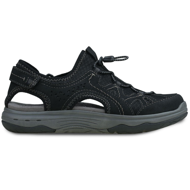 Earth Origins Farrah Women's Shoe (Black Faux Leather)