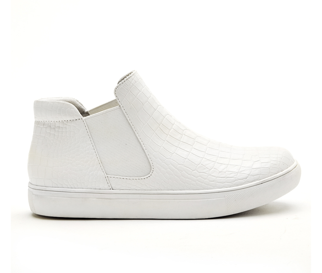 Coconuts Harlan Women's Shoe (White Faux Leather)
