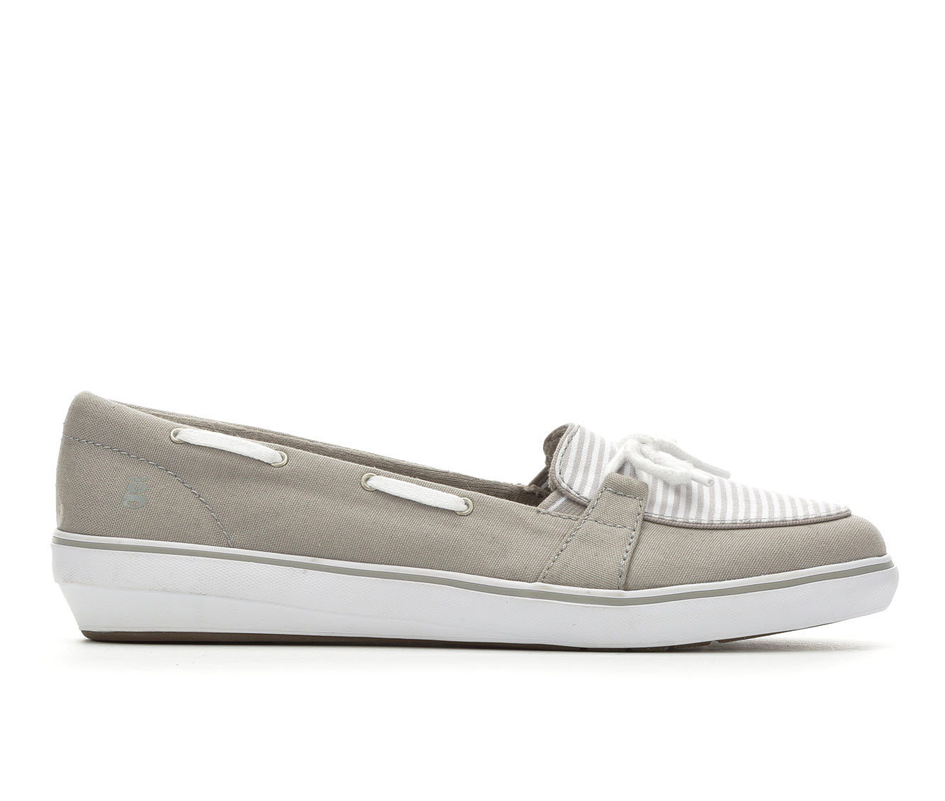 Grasshoppers Windsor Bow Women's Shoe (Gray Canvas)