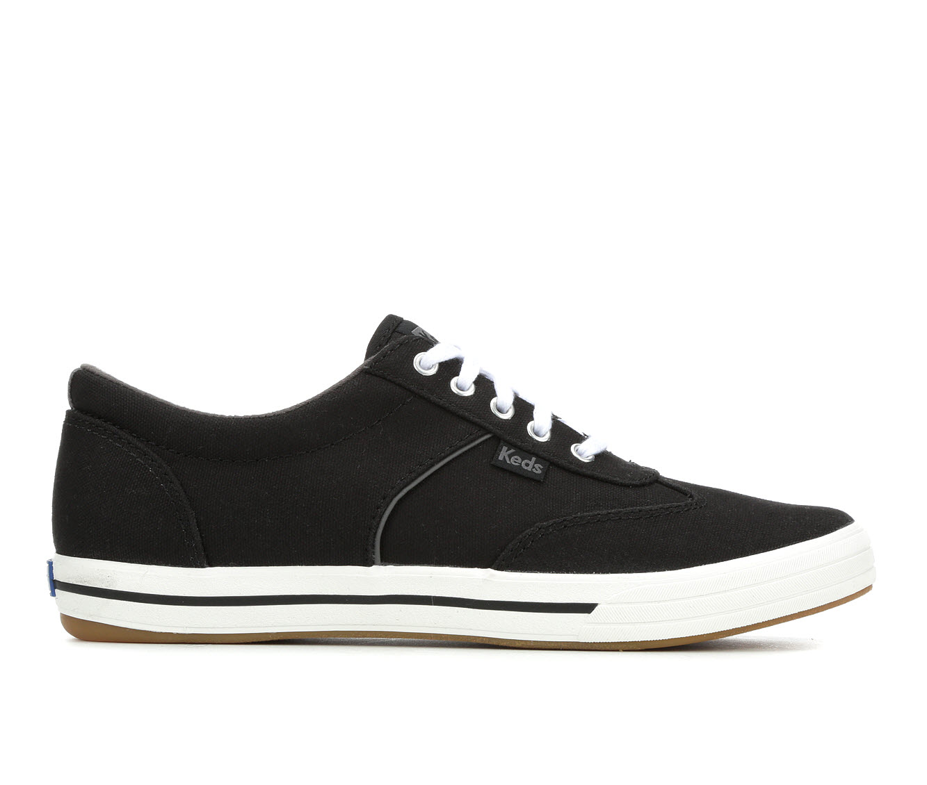 Keds Courty Twill Women's Shoe (Black Canvas)