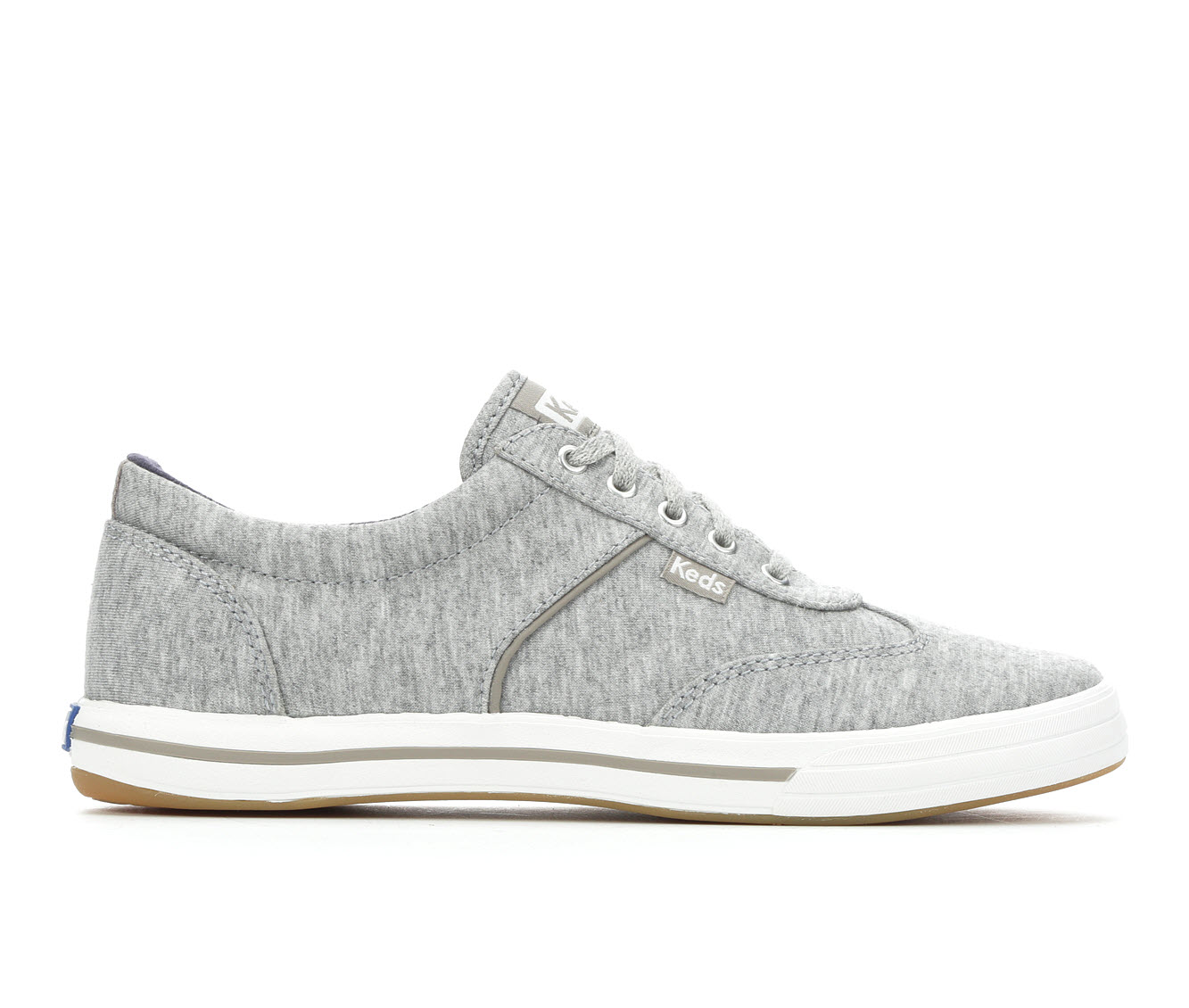 Keds Courty Jersey Women's Shoe (Gray Canvas)