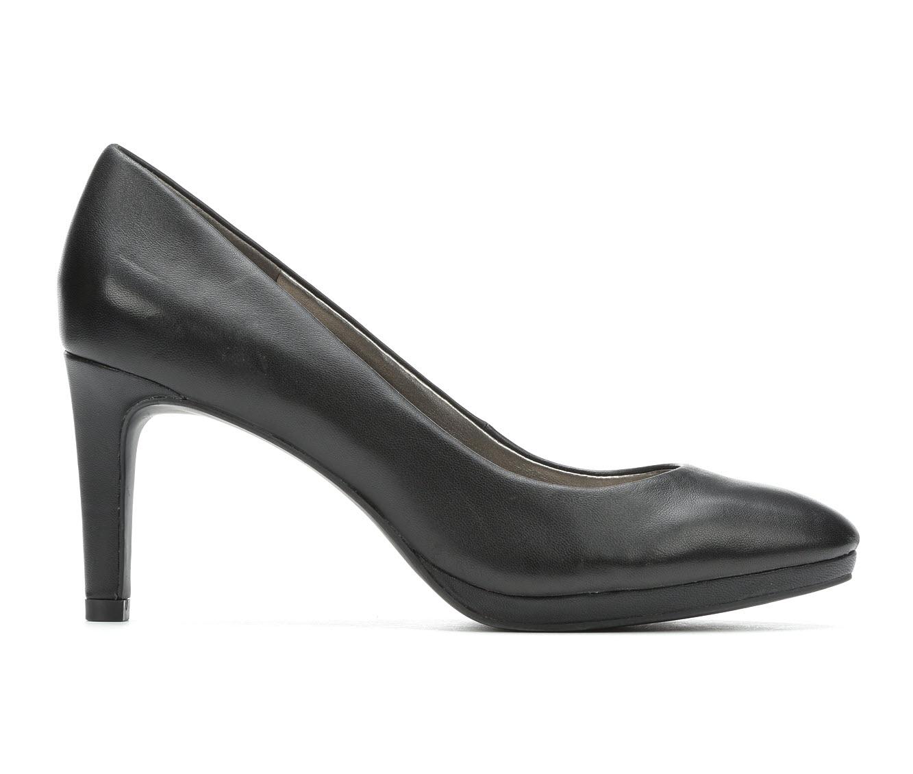 Bandolino Brownello Women's Dress Shoe (Black Faux Leather)
