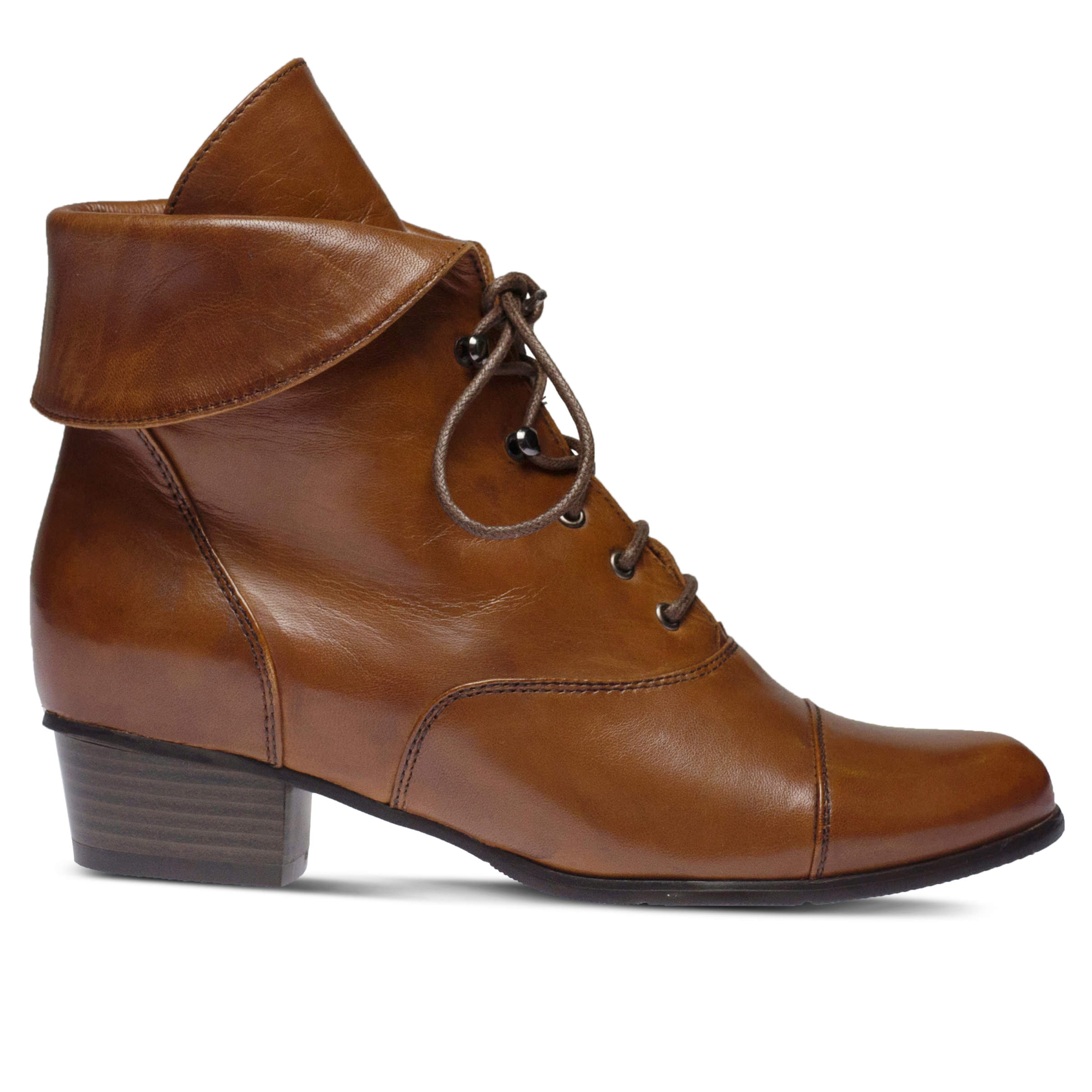 SPRING STEP Galil Women's Boots (Brown Leather)