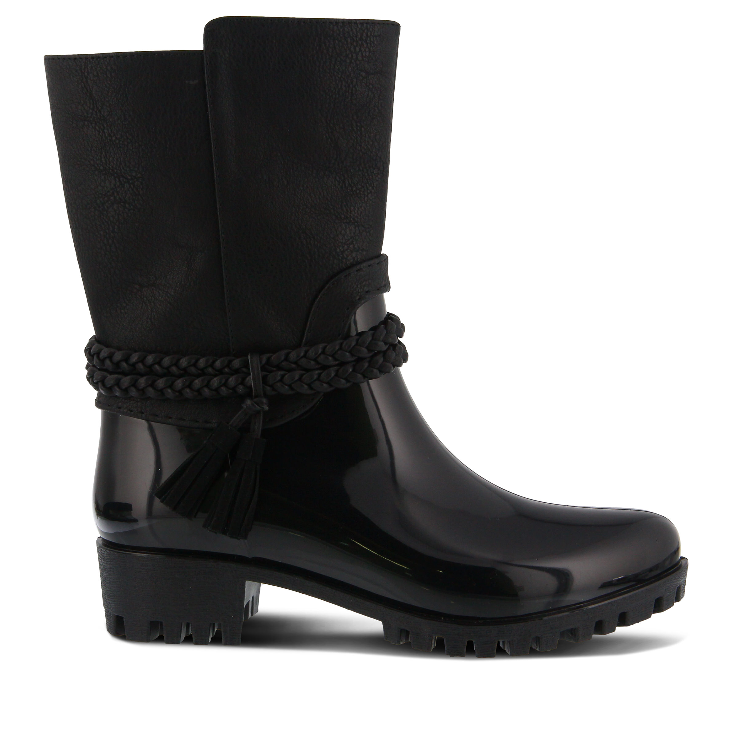 SPRING STEP Glover Women's Boots (Black - Faux Leather)