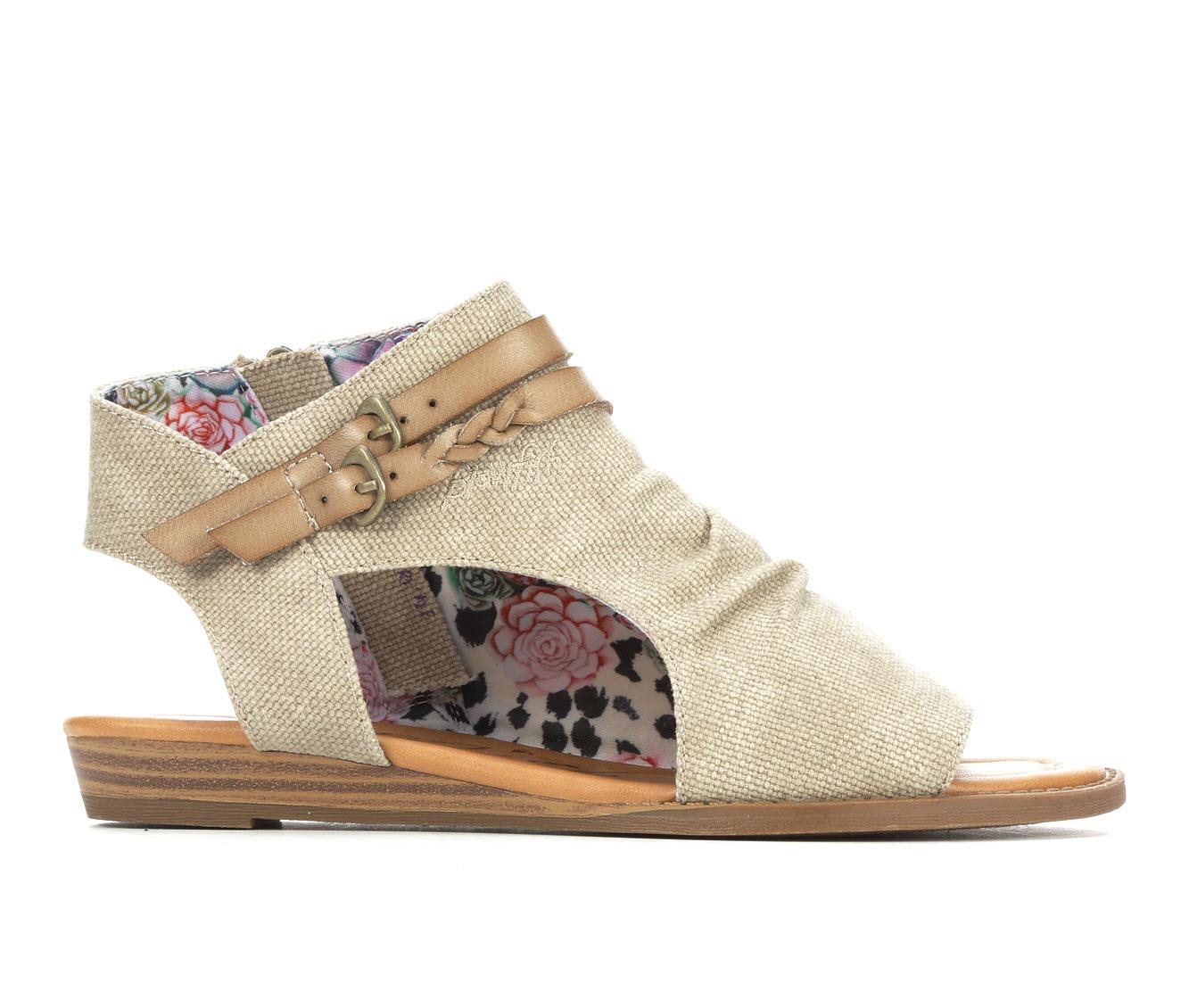 Blowfish Malibu Blumoon Women's Sandal (Beige Canvas)
