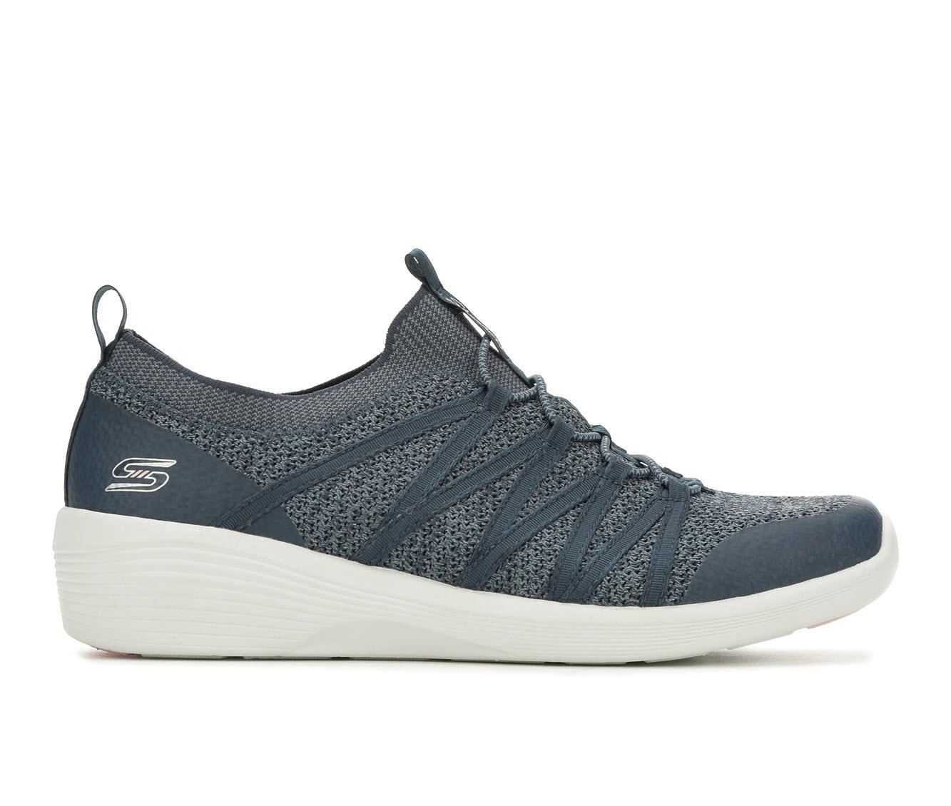 Skechers Arya 23757 Women's Shoe (Blue Canvas)