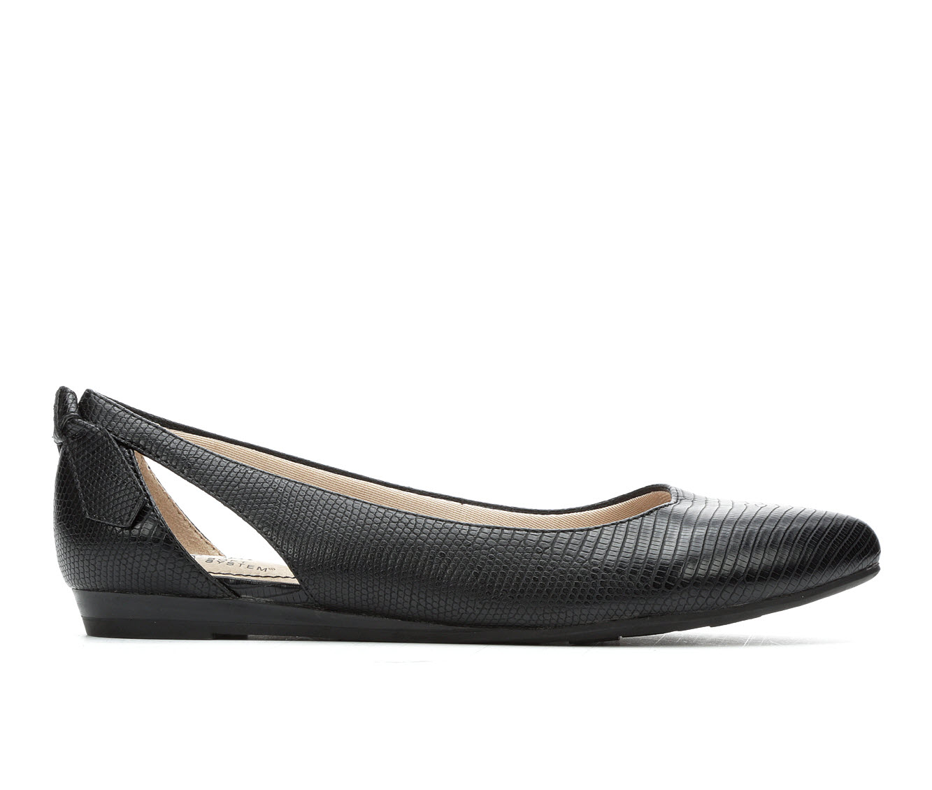 LifeStride Quicken Women's Shoe (Black Leather)