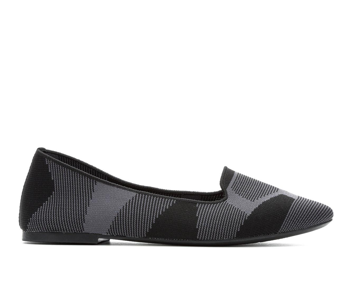 Skechers Cleo Sherlock 44731 Women's Shoe (Gray Canvas)