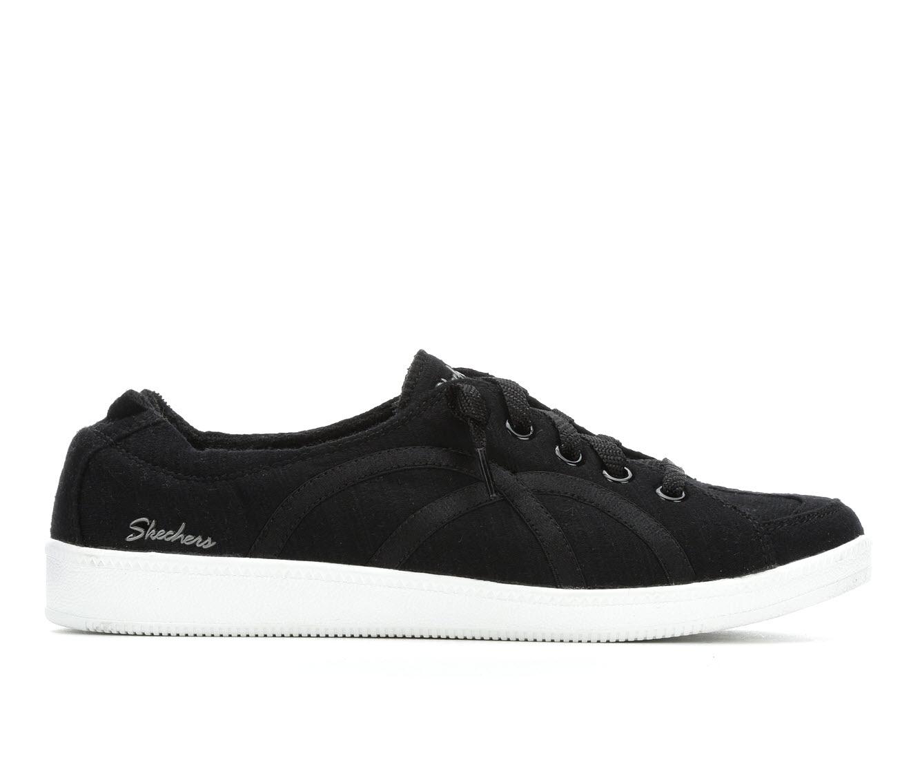 Skechers Take A Walk 23958 Women's Shoe (Black Canvas)