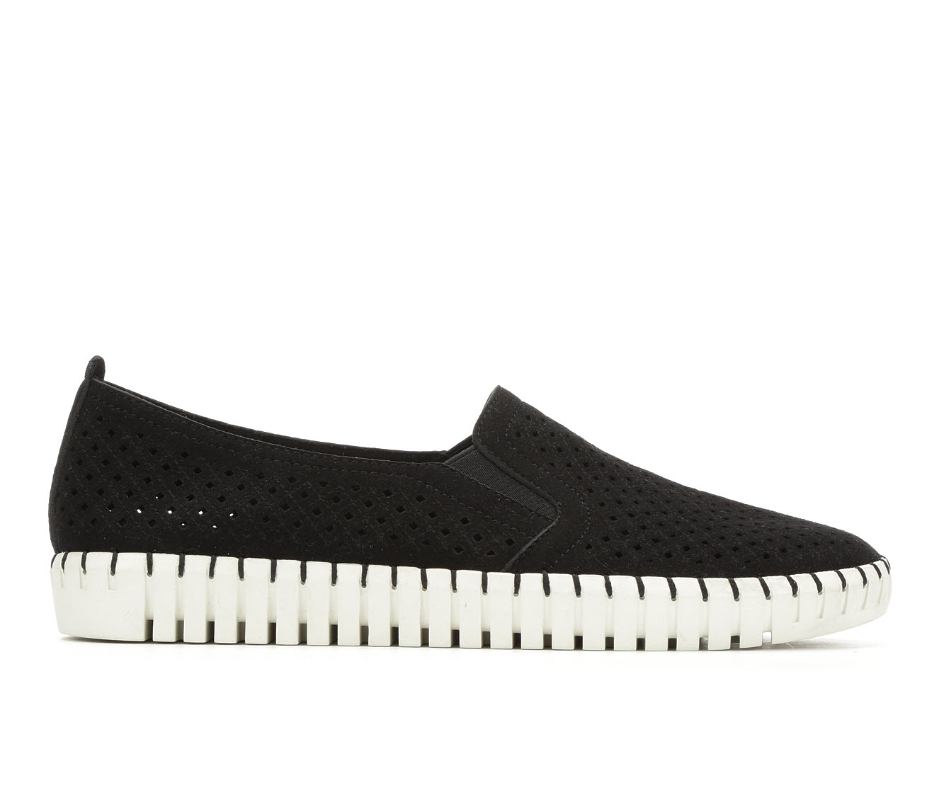 Skechers A La Mode 23967 Women's Shoe (Black Canvas)