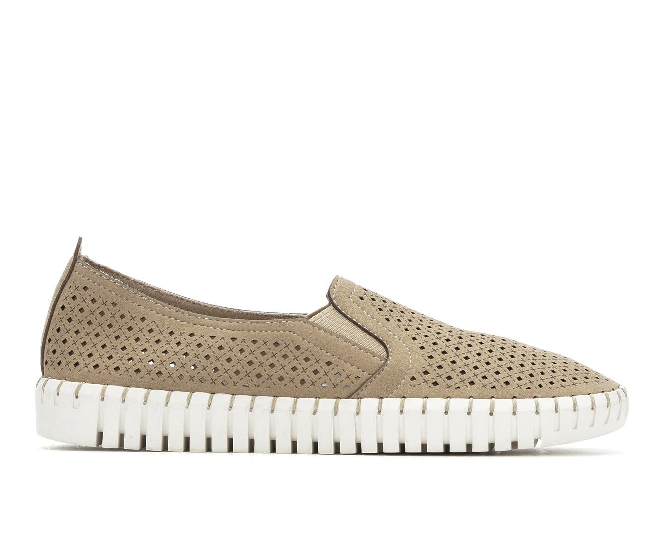 Skechers A La Mode 23967 Women's Shoe (Brown Canvas)