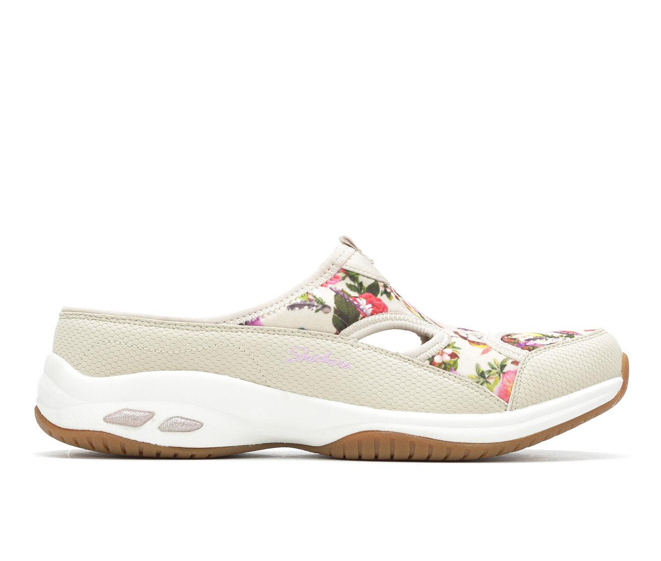 Skechers Ocean Pine 44918 Women's Shoe (Brown Canvas)