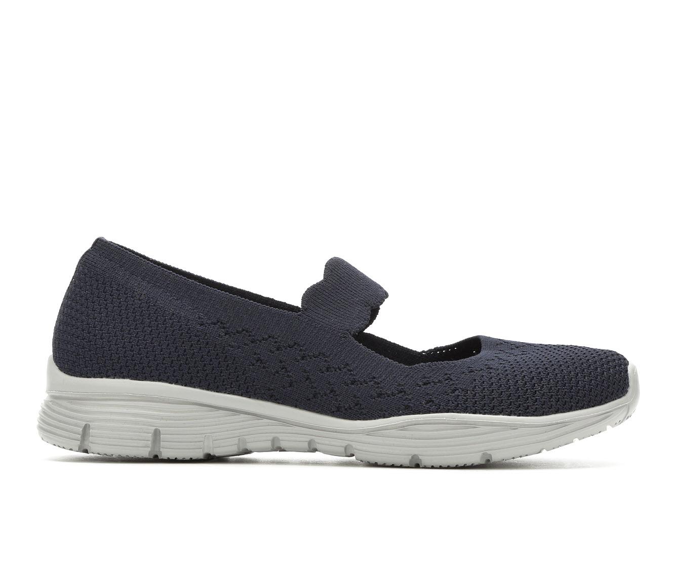 Skechers Power Hitter 49622 Women's Shoe (Blue Canvas)