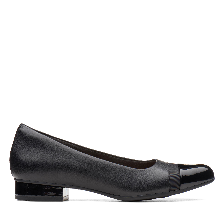 Clarks Juliet Monte Women's Shoe (Black Leather)