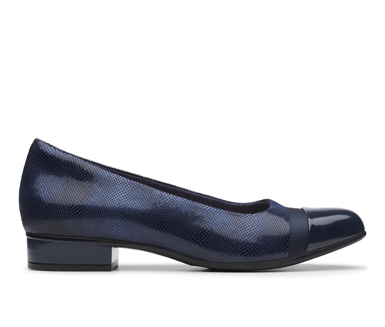 Clarks Juliet Monte Women's Shoe (Blue Suede)