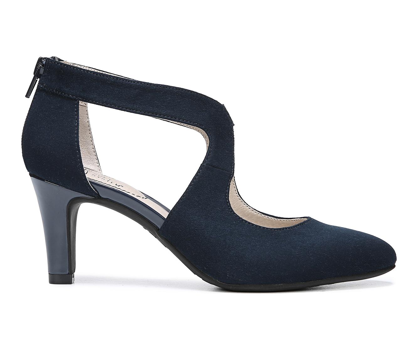 LifeStride Giovanna 2 Women's Dress Shoe (Blue Canvas)