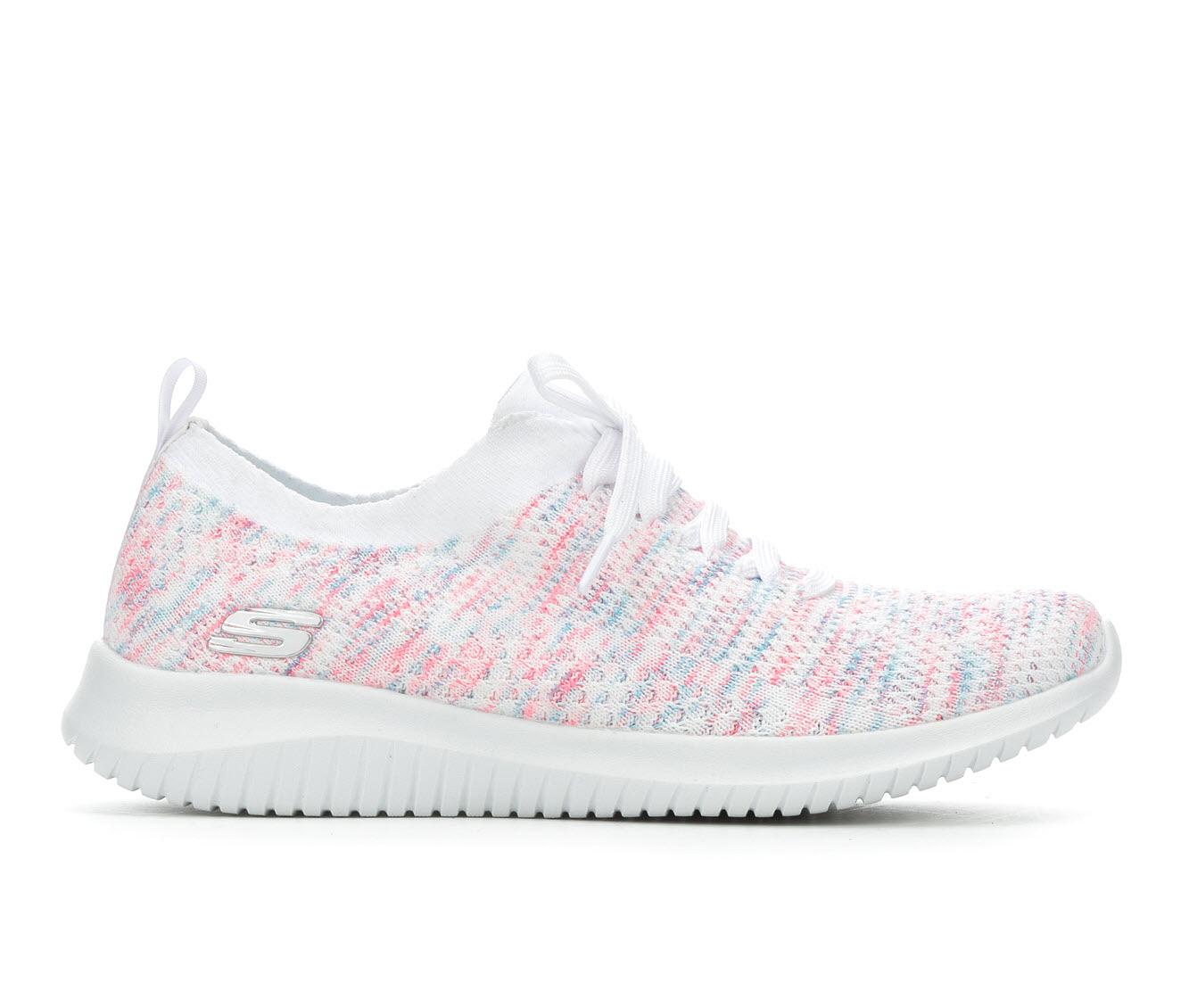 Skechers Happy Days 13101 Women's Athletic Shoe (White)