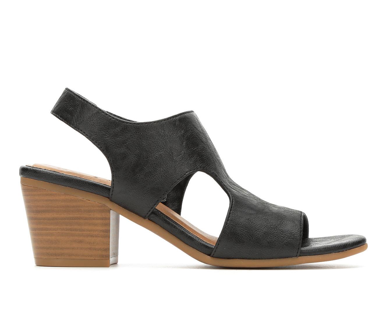Vintage 7 Eight Morgan Women's Dress Shoe (Black Faux Leather)