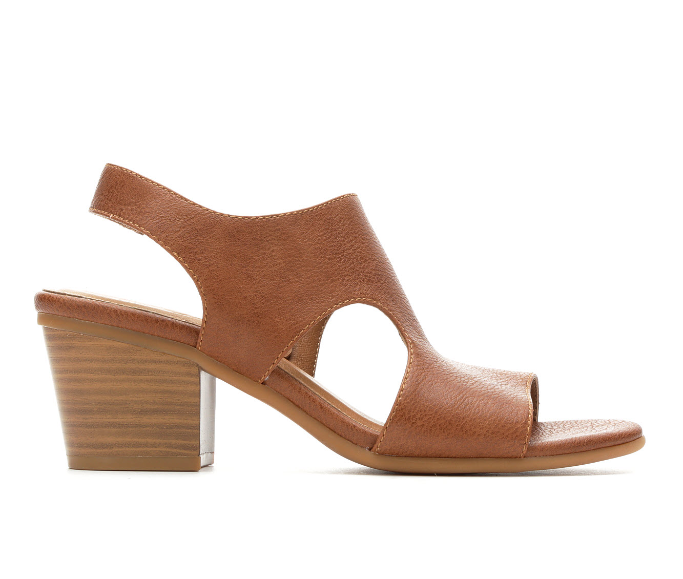 Vintage 7 Eight Morgan Women's Dress Shoe (Brown Faux Leather)