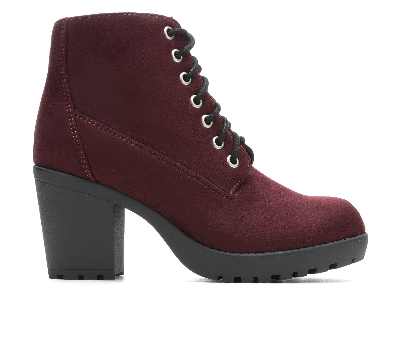 Soda Second-S Women's Boot (Red Canvas)